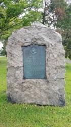 Lt Donald MacDonald Memorial Plaque
