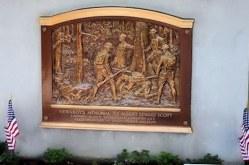 Newsboys Memorial to Albert Edward Scott