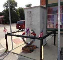 Memorial to the World War Veterans of Tippecanoe Township 1917-1918