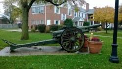 American Legion Post 134 Cannon