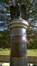 Glen Cove Eagle WW I Memorial