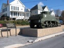 Jeb Stuart WWI Tank