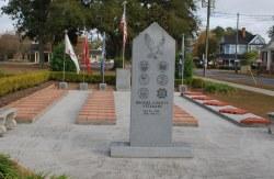 "Brooks Co. - Quitman - ""Brooks County Veterans"" Memorial"