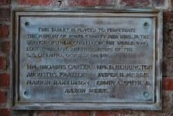 Burke Co. -- Otranto Memorial Marker