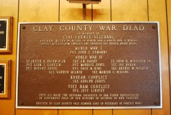 Clay Co. - Fort Gaines - Clay County War Dead