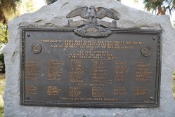 Savannah - Chatham Co. - Roll of Honor - Daffin Park