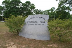 Elbert Co. - Elberton - Memorial Park - Honoring All Veterans