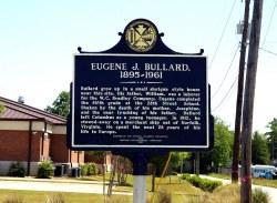 Columbus –- Eugene Bullard Historical Marker