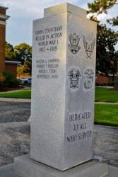Evans Co. - Claxton - Service Monument