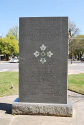 Augusta –- Fourth Infantry Ivy Division Monument