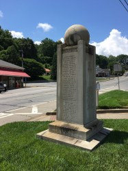 """Fannin Co – McCaysville - """"Our Heroes"""" Monument"""