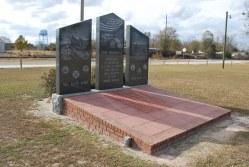 Telfair Co - Lumber City -  Armed Forces Memorial