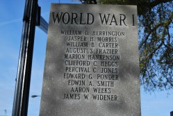 Burke Co. -– Monument to WW1 Soldiers