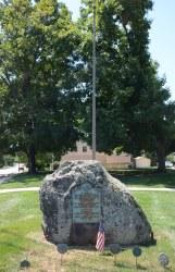Collegeville Memorial Boulder