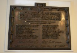 Chestnut Hill Presbyterian Church Memorial Plaque