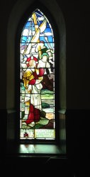 Church of the Messiah, Norton Downs, Jr. Stained Glass Window