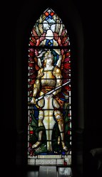 Church of the Messiah Julian Biddle Stained Glass Window