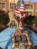 World War 1 Doughboy with Flag