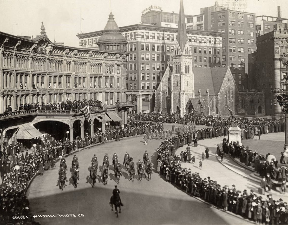 Indiana WWI Victory Parade Indianapolis