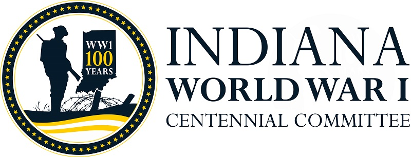Indiana World War I Centennial Committee Logo Horizontal