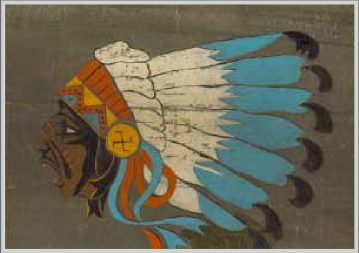 the Sioux Warrior Logo