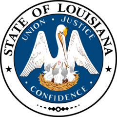 The Great Seal of the State of Louisiana