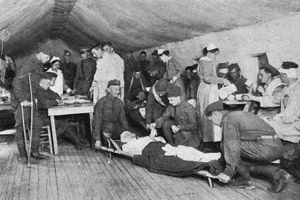 Receiving Room, Evacuation Hospital
