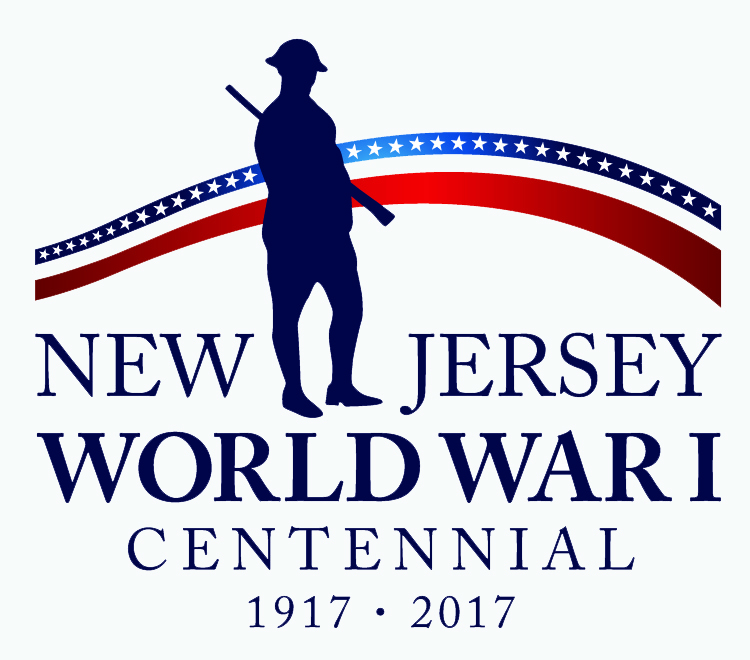 NJ WW1 Centennial Logo cmyk GrayBckgrnd