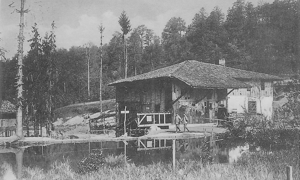 charlevaux mill 1916