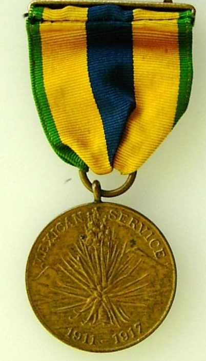 048 US Mexican Service Medal 1911 1917 Army