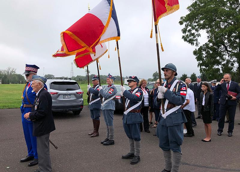 Color Guard at Soldiers Day Czestochowa PA