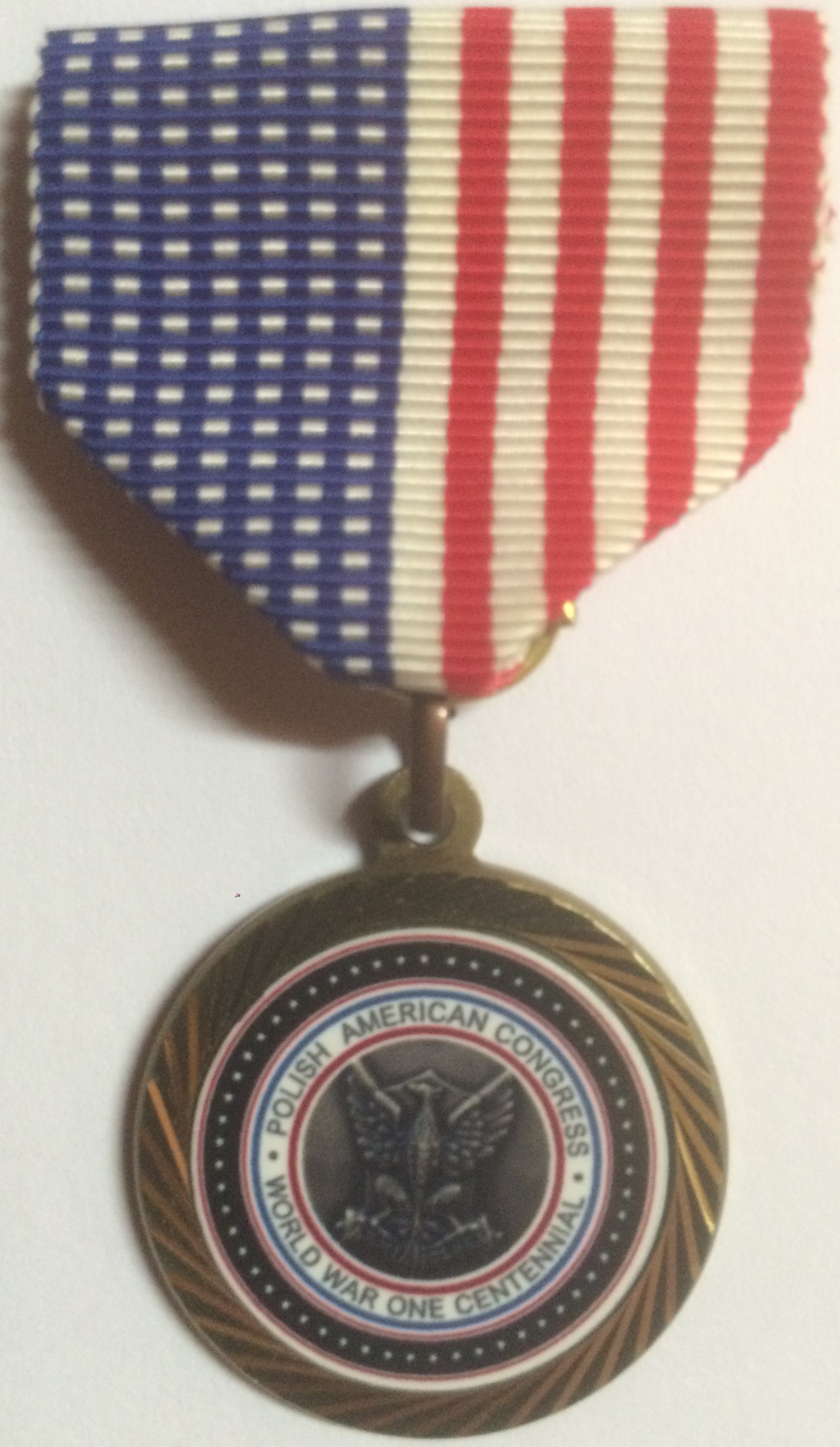 Service Medal of The Polish American Congress World War One Centennial
