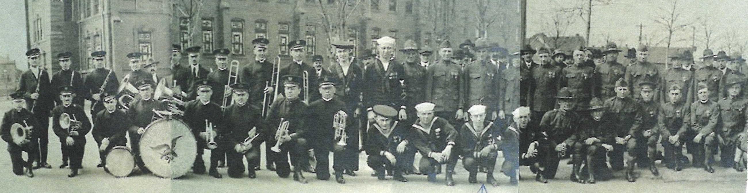 South Bend IN returning vets c. 1921