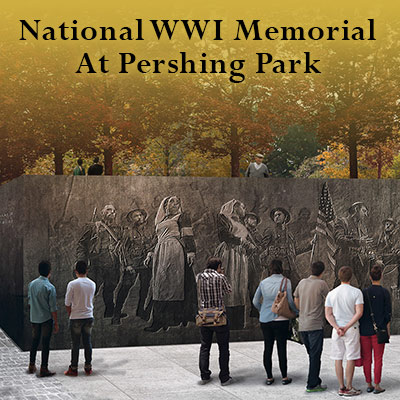 Learn about the US WWI Memorial at Pershing Park