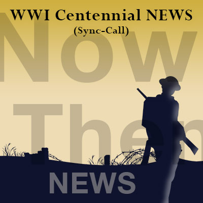 Listen to the weekly WWI Centennial News show