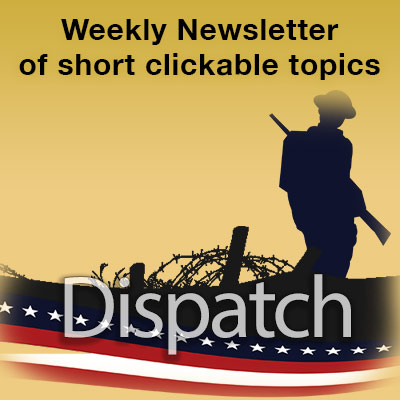 Weekly WWI Centennial Newsletter