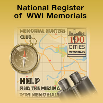 Help Find The Missing WWI Memorials