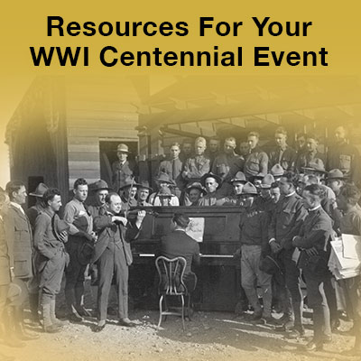 Resources For Your WWI Comemmoration