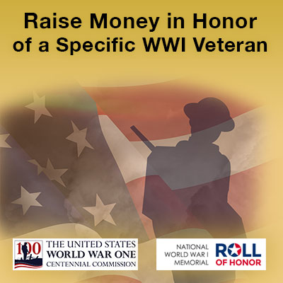 Raise money in the name of a veteran
