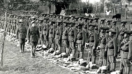 4th Ghurka Rifles inspection in Flanders, 1915
