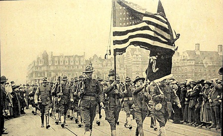 US Soldiers Marching