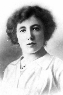 Gabrelle Petit, spy for the British in German Occupied Belgium.