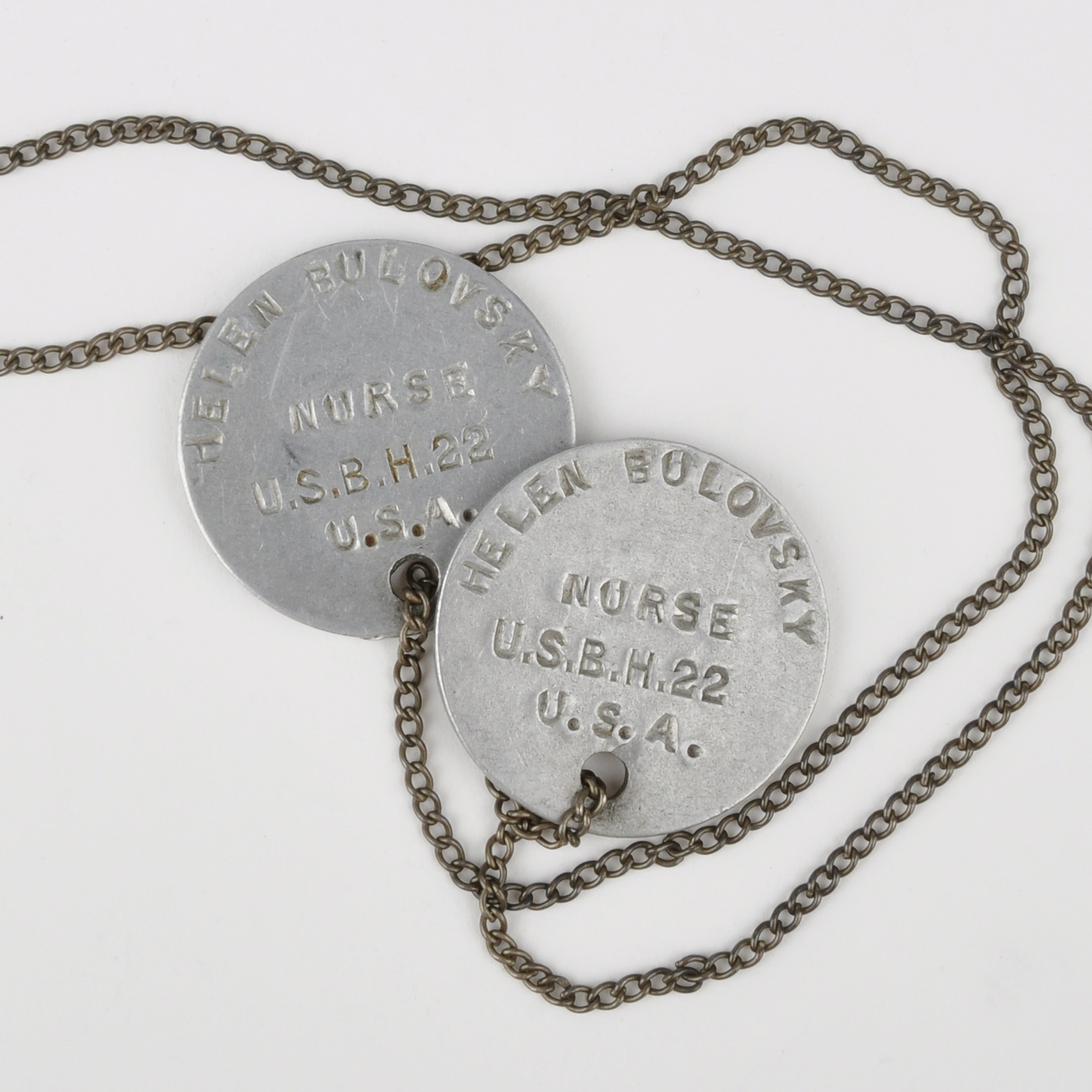 Base Hospital 22 Dog Tags