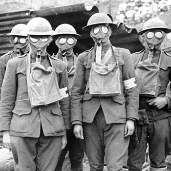 Mustard gas finds its way into ww1