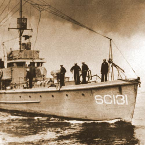 Submarine Chaser from of WWI