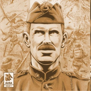 AUSA, the Association of the United States Army-- recently published a new free graphic novel about Sgt. York