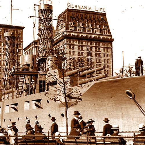 USS Recruit in Union Square, NY