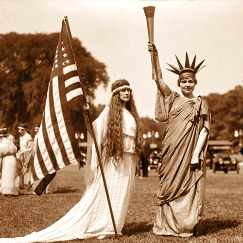 "The 4th of July, 1919 Washington DC theme was ""A World At Peace"""