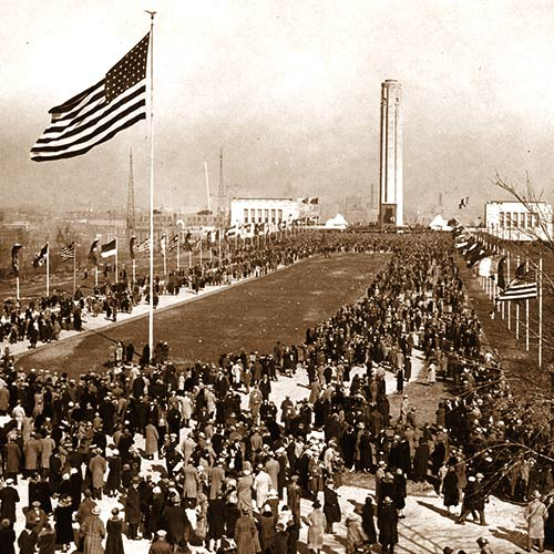 1926 dedication of WWI Memorial in KC
