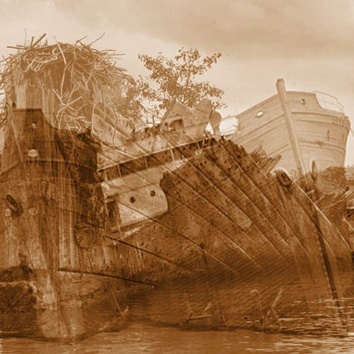 The Ghost Fleet of Mallows Bay
